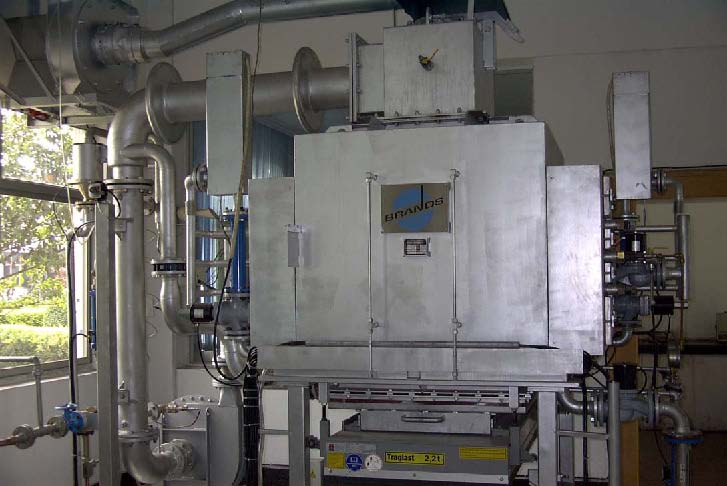 Kiln for Magnetic Coercivity Research